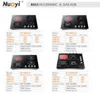 NY-QB4613 4 Burners hybrid FG-QT42 gas & ceramic combine cooker/hob