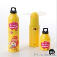 Art Bottle Gift Mini Fan Creative Battery Operated Gift Bottle Series