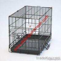 new-model  foldable metal dog kennels (factory)