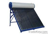compact unpressurized solar water heater-color steel model