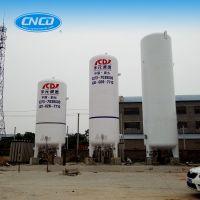 Liquefied Carbon Dioxide Cryogenic Vacuum Perlite Insulation Storage Tank