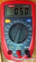 Volts Meter, Amp Meter, Ferquincy meter, Resistance meter,