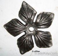 castint steel flower