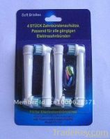 Electric Toothbrush Head End rounded bristles