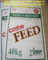 PP woven animal feed bag