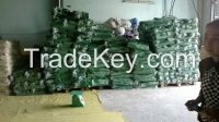 Recycle PP woven bag / PP woven garbage bag / Green pp woven bag