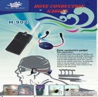 Hearing aid Bone conduction gadget for swimming training