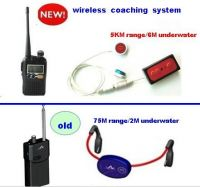 5KM coaching system with 3channle for open water swimming/rowing/surfing