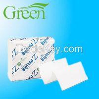 kraft recycle multifold paper towels