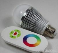 Magic 3W Remote Controlled LED RGB(New Arrival)