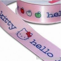 XSD Single Side or Double Side Woven-edge Polyester Satin Ribbon for g