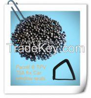 PACREL plastic raw materials TPE/TPV compound for auto sealing profiles