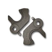 Steel casting part for railway