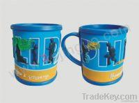 soft pvc mugs