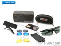 polarized sports glasses with 5 lenses