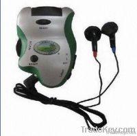 Radio Pedometer with Mini Size and FM Radio