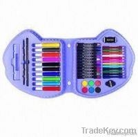 45-piece Art Set, Includes Jumbo Markers and Crayons
