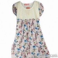 Fashionable summer casual one piece dress for gravida