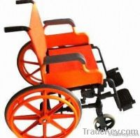 Wheelchair, Made of Plastic Alloy
