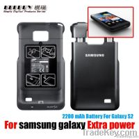 Samsung Galaxy S2 i9100 External Battery Case Cover, 2200mAh