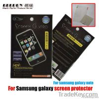 Samsung Galaxy Note i9220 GT-N7000 Screen Protector