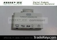5 in 1 Camera Connection Kit for iPad or iPad 2 + AV USB SD Card Reade