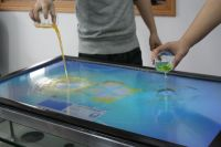 50 inch Infrared Waterproof Multi Touch Panel-6 Points