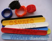 Colorful printing Silicone ID Bracelet with same or unique QR Code