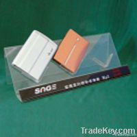 New!!Clear Exquisite Acrylic Wallet Display Stand