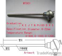 straight rod type thermocouple