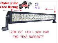 120W 10800LM 22 INCH COMBO LED LIGHT BAR LIGHTBAR OFFROAD for 4x4SUV JEEP BOAT ATV