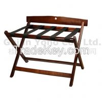 Wooden Luggage Rack Stand