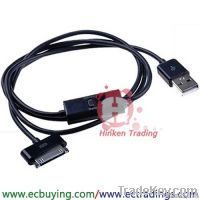 "40"" USB Sync Data Charger Cable For Samsung Galaxy Tab"