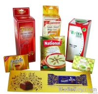 cosmetic package paper