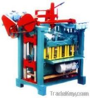 High capacity hollow concrete brick machine with moulds(QMJ4-35)