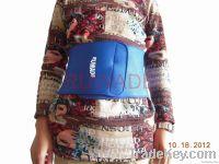 Neoprene waist support brace