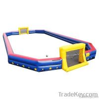 Inflatable sport games soccer field