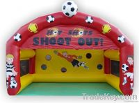 Inflatable sport games shooting goal