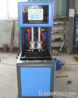 Semi-automatic blow bottle machine and heater