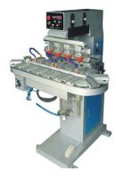 LTY-4406 Pneumatic 4 colors pad printing machine with conveyor
