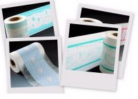 PE breathable laminated film with polyester fabric or nonwoven fabric