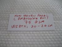 emboss pattern wet wipe spunlace nonwoven