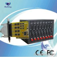 IMEI changeable 8 port GPRS SMS modem pool for bulk sms