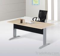 Modern metal frame office table