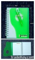 PP Cover Note Book With Pen