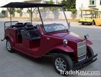 6-seat electric retro car