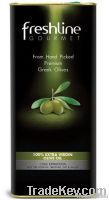 Freshline Gourmet Extra Virgin Olive Oil in Square Tinplate Cans