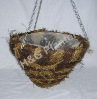 Extra deep round hanging basket
