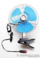 "6"", 8"" Oscillating , metal/plastic car fan"