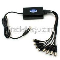 4 CH USB D1 DVR QQ DVR real-time record 25fps/ch, H.264 resolution